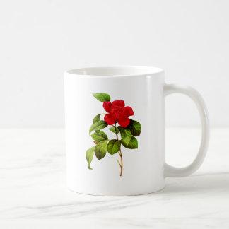 Red Camellia  by Pierre Joseph Redoute Coffee Mug