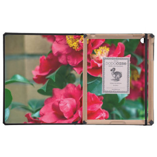 Red Camellia Cover For iPad