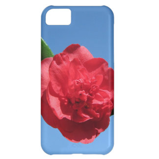 Red Camellia in Blue Sky iPhone 5C Cover