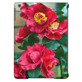 Red Camellia iPad Air Cover