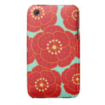 Red Camellia iPhone 3 Cover