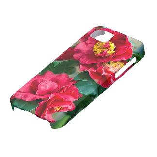 Red Camellia iPhone SE/5/5s Case