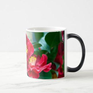 Red Camellia Magic Mug
