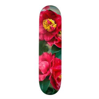 Red Camellia Skateboard Deck