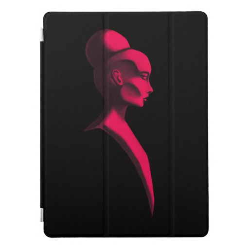 Red Cameo iPad Smart Cover