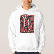 Red Camo Digital Tech Hoodie