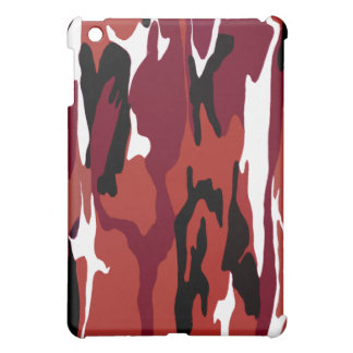 Red Camo iPad Mini Case