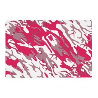 Red Camo Placemat