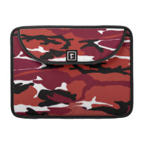 Red Camo Sleeve For MacBook Pro