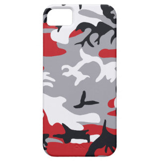 Red Camouflage Barely There™ iPhone 5 Case