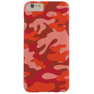 Red Camouflage Barely There iPhone 6 Plus Case
