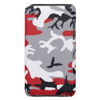Red Camouflage Barely There™ iPod Touch Case