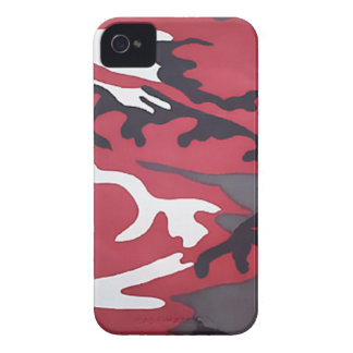 Red Camouflage Blackberry Bold iPhone 4 Cover
