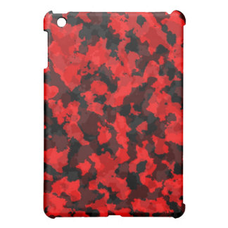 Red Camouflage iPad Case