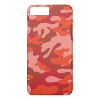 Red Camouflage iPhone 7 Plus Case