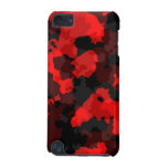 Red Camouflage iPod Touch Case