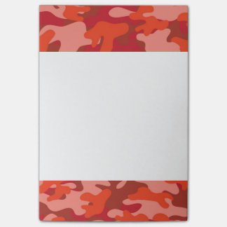 Red Camouflage Post-it Notes