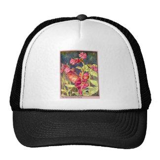 Red Campion Fairy Trucker Hat