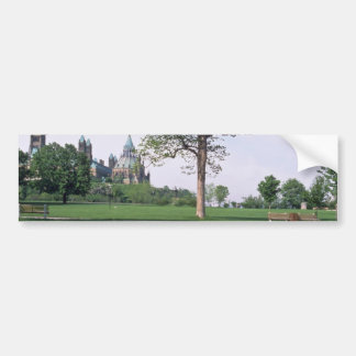 Red Canadian flag with tulips Major s Hill Park Bumper Stickers