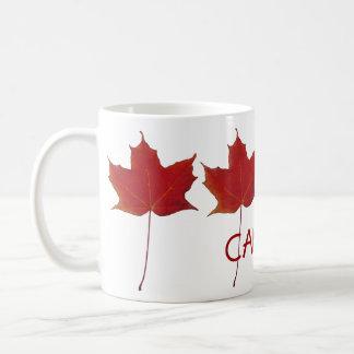 red canadian maple leaf - Canada Classic White Coffee Mug