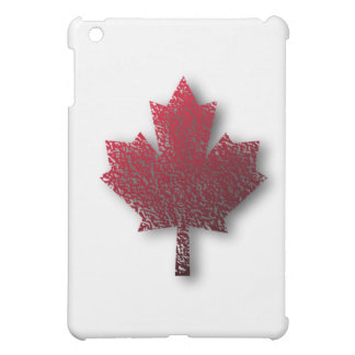 Red Canadian Maple Leaf Cover For The iPad Mini