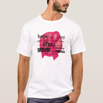 Red Cancer Awareness T-Shirt