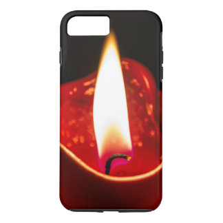 Red candle iPhone 7 phone case