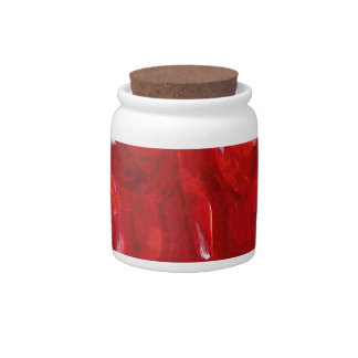 Red Candy Bear Candy Jar