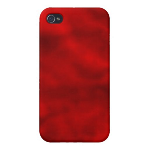 Red Candy Clouds iPhone 4/4S Covers