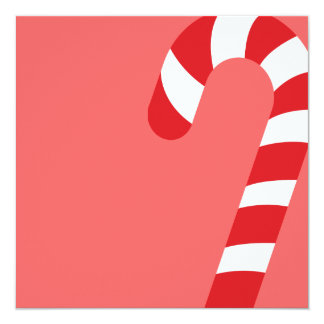 Red Candycan Christmas Party Invitation
