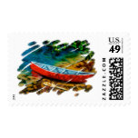 RED CANOE POSTAGE