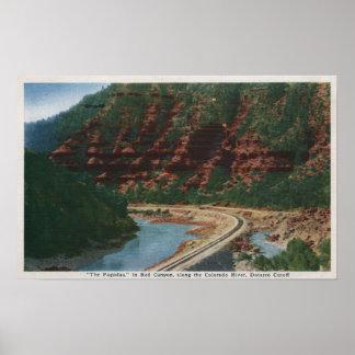 Red Canyon, Colorado Poster