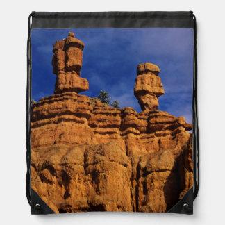 Red Canyon Sandstone Forms In Central Utah Drawstring Bag