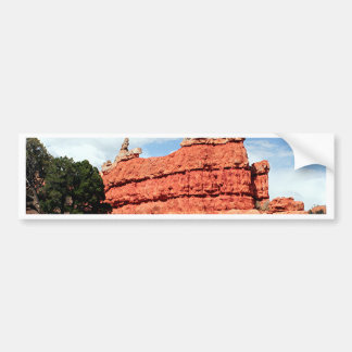 Red Canyon, Utah, USA 3 Bumper Sticker