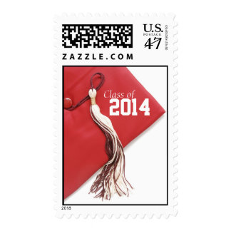 Red Cap Class of 2014 Postage
