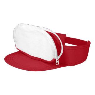 Red Cap-sac Visor