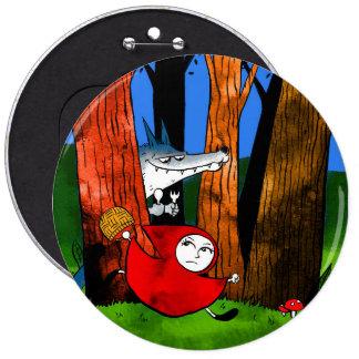 Red Caperucita Button