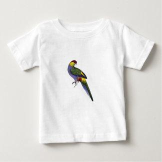 Red Capped Parakeet Parrot Bird Baby T-Shirt