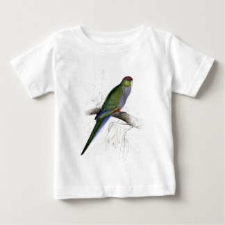 Red-Capped Parrakeet (Female) by Edward Lear Baby T-Shirt