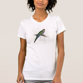 Red-Capped Parrakeet (Female) by Edward Lear T-Shirt