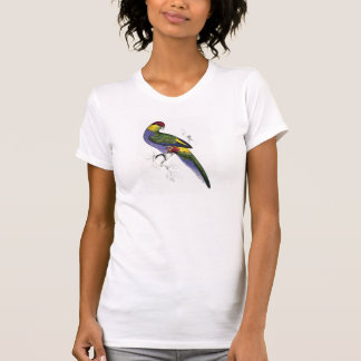 Red-Capped Parrakeet (Male) by Edward Lear Tshirt