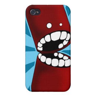Red Capsule iPhone Case