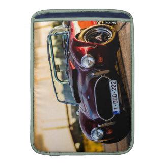 Red car.Classic car MacBook Air Sleeve