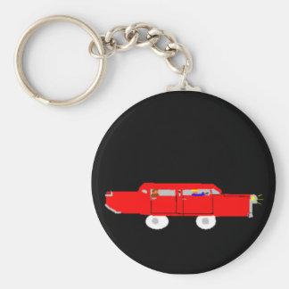 Red Car Keychain