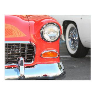 Red Car Postcard