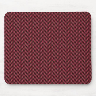 Red carbon fiber mouse pad