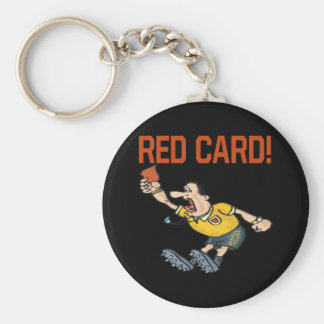 Red Card Keychain