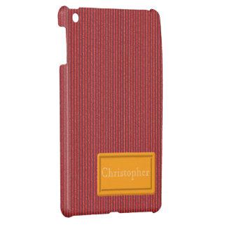 Red Cardboard iPad Mini Case Template