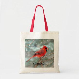 Red Cardinal Bird Bag