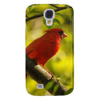 Red Cardinal Bird in Tree by Lois Bryan Samsung S4 Case